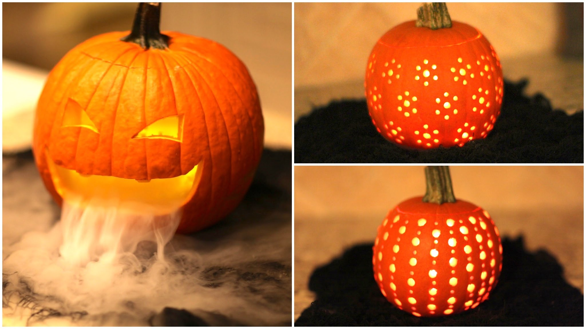 3 Great Pumpkin Carving Ideas