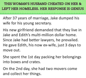 womans husband cheated 1
